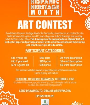 Concurso de Arte para Estudiantes Latinx