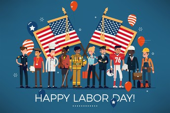 Sept. 6 - Have a wonderful and safe holiday with your family and friends!