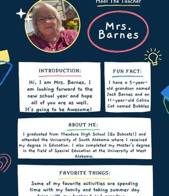 Mrs. Barnes, SPED