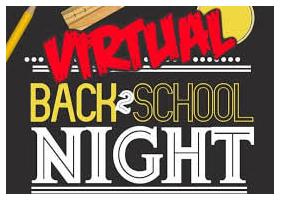 A Virtual Back to School Night