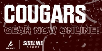 Cougar Pride! Check out our online school store.