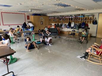 Mrs. Downing's 4th grade classroom