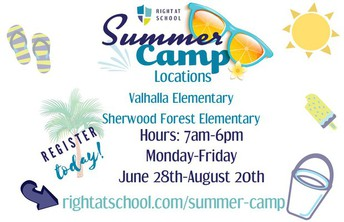 Summer Childcare Available for Grades K-5