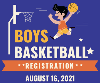 BOYS Basketball Registration (5th-8th Grade)