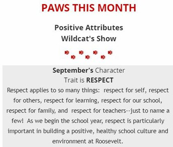 PAWS of the Month: Respect
