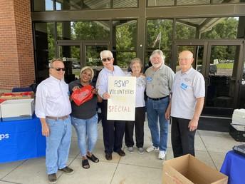 THANK YOU, Retired and Senior Volunteer Program (RSVP) Volunteers!