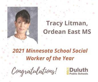 2021 Minnesota School Social Worker of the Year