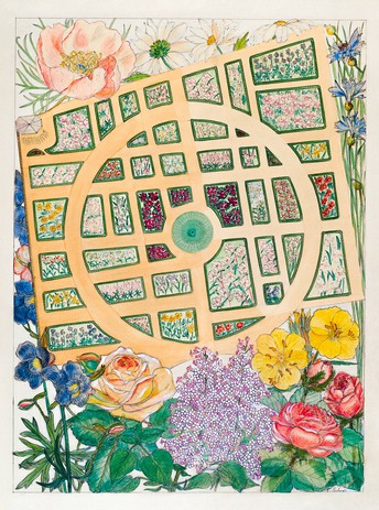 Grades 3rd-5th:  Extraordinary Gardens!