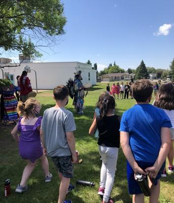 Indigenous Day Dancing