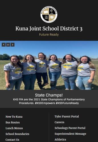 District & schools websites changing