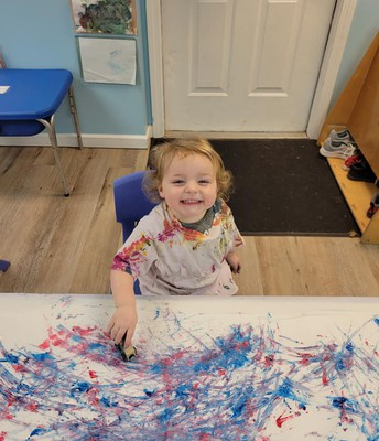 Painting with Cars!