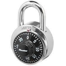 Practice Opening a Combination Lock Before School Starts