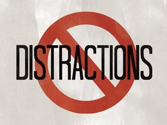 Minimize Distractions - Learn Decorum