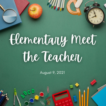 Elementary Meet the Teacher