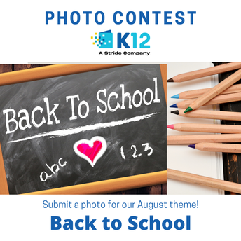 August Photo Contest: Back to School