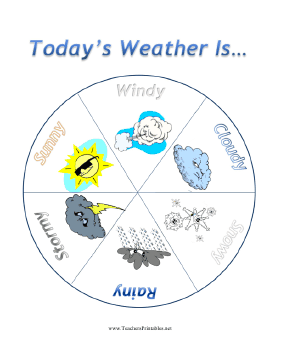 Grades Pre-K-2:  Weather Graphing