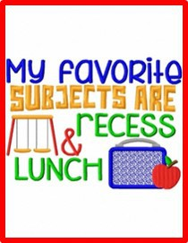 UES Lunch and Recess 2021-2022