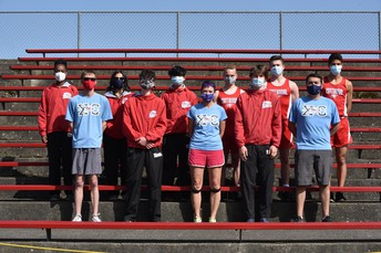 Cross Country Team and Coaches