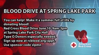 Blood Drive at Spring Lake Park City