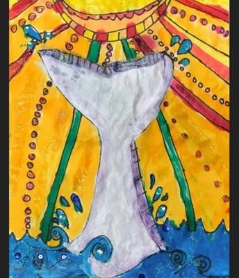 Splish Splash by Aaliyah V., 1st Grade