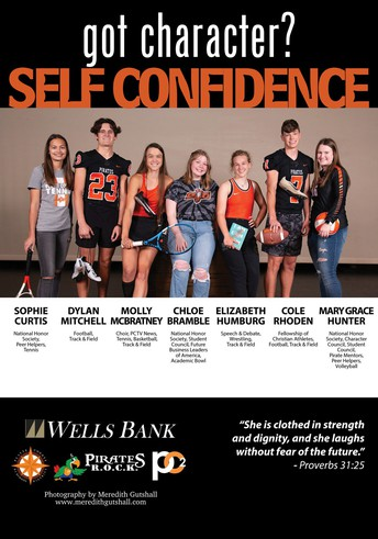 Pirates ROCK Character Trait: SELF CONFIDENCE (August)
