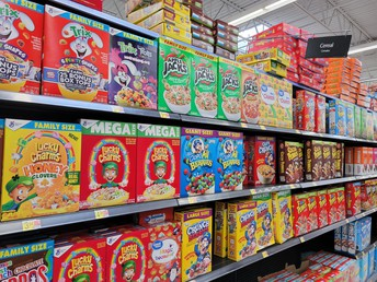 Cereal Box Donation Drive