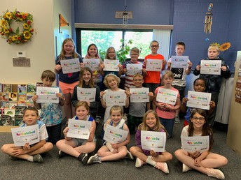 Last Day of School Awards in Mrs. Connelly's Room