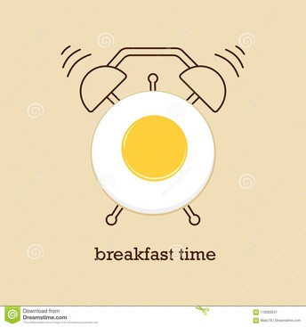 Up and at 'em! Time for Breakfast!