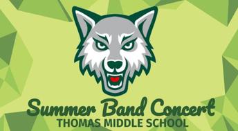 Congratulations Summer Band Musicians!