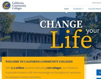 116 California Community Colleges (CCC campuses)