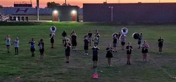 THE COMBS MARCHING COYOTE REGIMENT