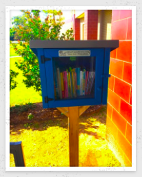 LITTLE FREE LIBRARY AT TRUMAN PRIMARY