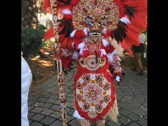 New Orleans Native American Tribal Regalia
