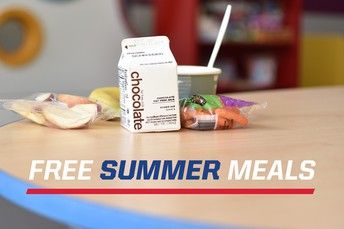 Free meals available this summer