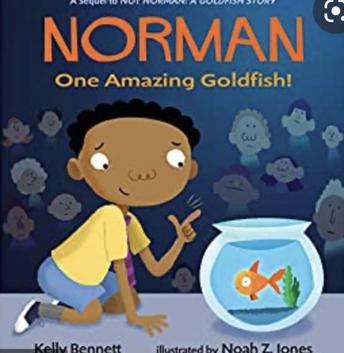 Norman -One Amazing Goldfish!