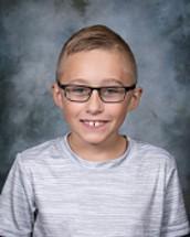 5th Grade: Billy Studebaker