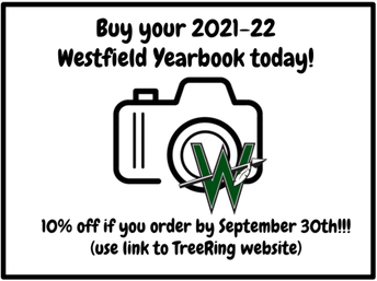 Order a Westfield Yearbook Today