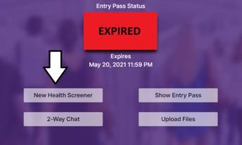 Expired Pass