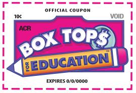 Box Tops for Education Program Is Running!