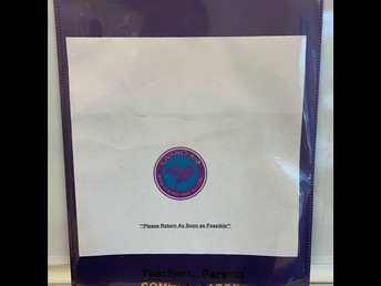 Purple Folders