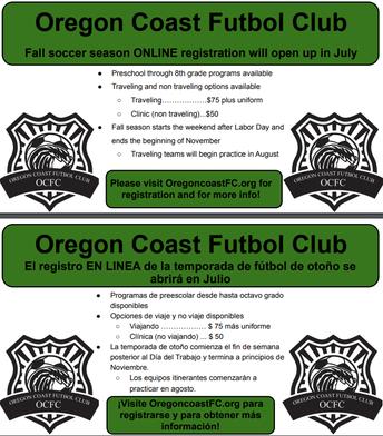 Oregon Coast Futbol Club :: Fall Season
