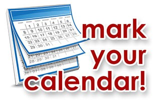 Important Dates and Events!