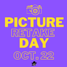 Picture Retakes - Oct. 22nd