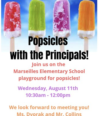 Popsicles with the Principals