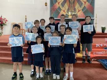 School values certificates winners