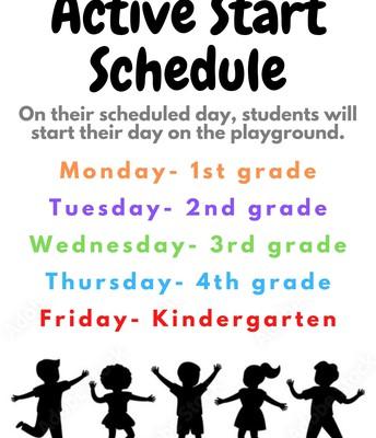 Active Start Schedule