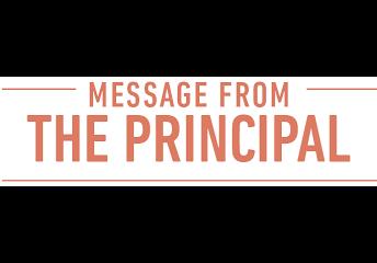 Principal McMullen's Message