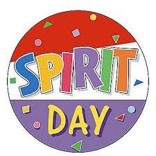 Monday 9/13 Spirit Day
