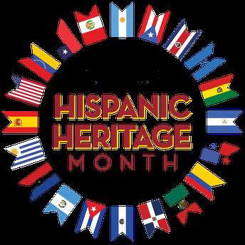 Celebrating National Hispanic Heritage Month 9/15-10/15