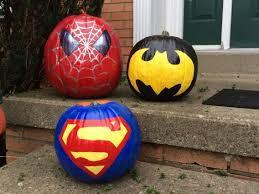 You can paint your pumpkin!